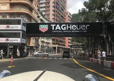 balade sur le circuit de F1 à Monaco