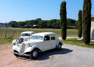 enTractTour route des vins Clos des Roses