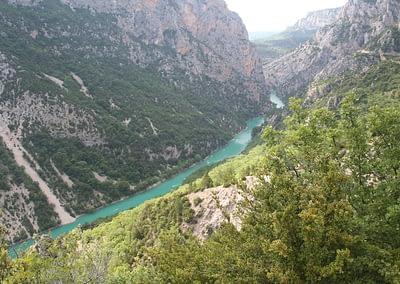 enTractTour route des lavandes gorges du Verdon