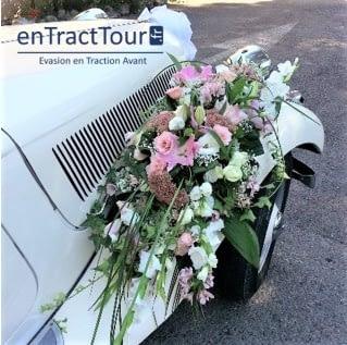 Décoration voiture mariage ventouse