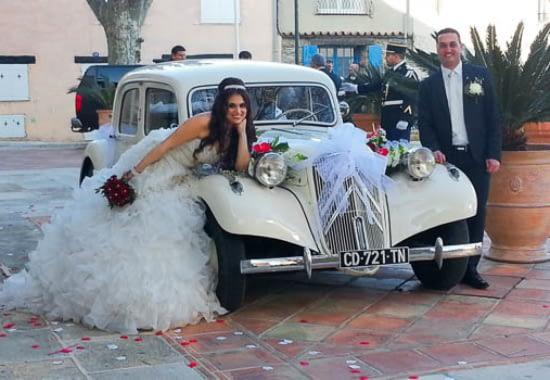 enTractTour voiture de mariage