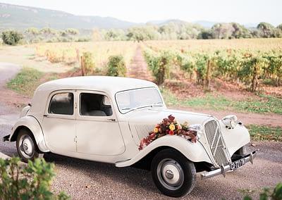 enTract'Tour Décoration voiture mariage