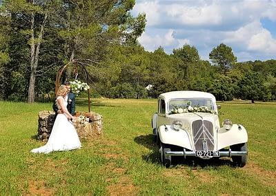 La Traction pour votre mariage