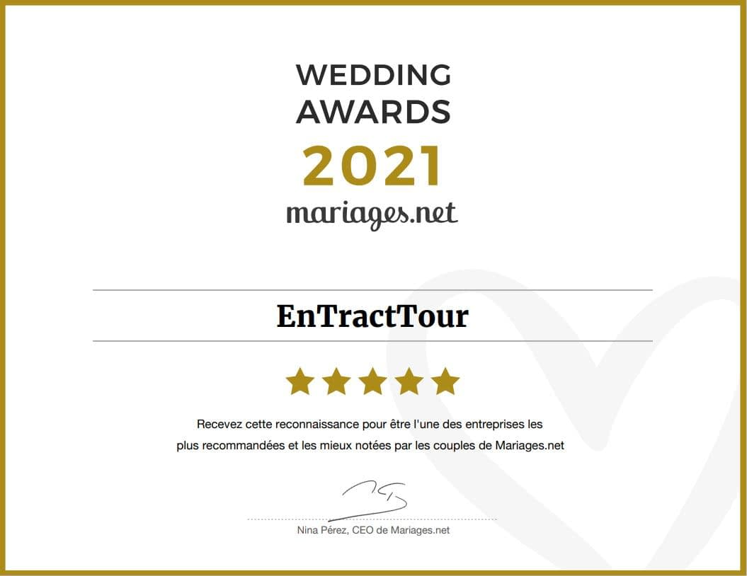 Awards 2021 Mariages.net